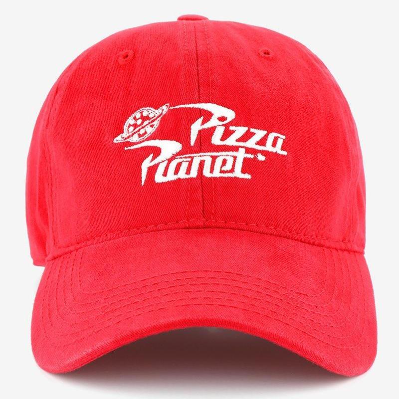 トイストーリー PIZZA PLANET ピザ・プラネット ベースボールキャップ  (RED)