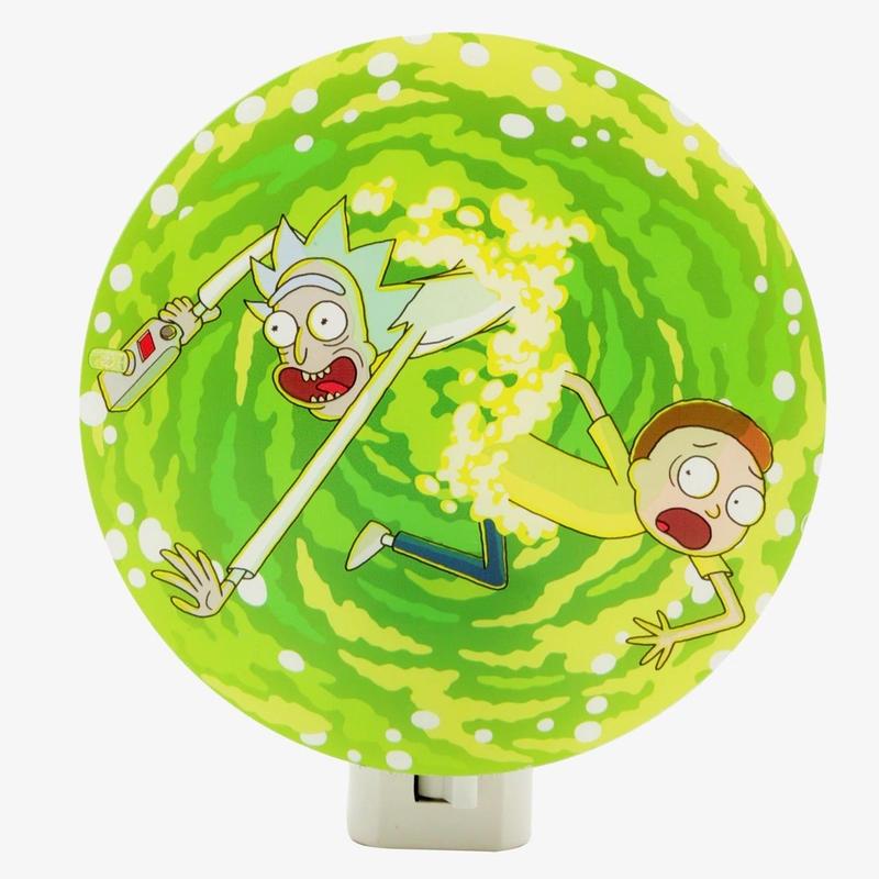 『リック アンド モーティ』ナイト・ライト Rick And Morty Portal Nightlight