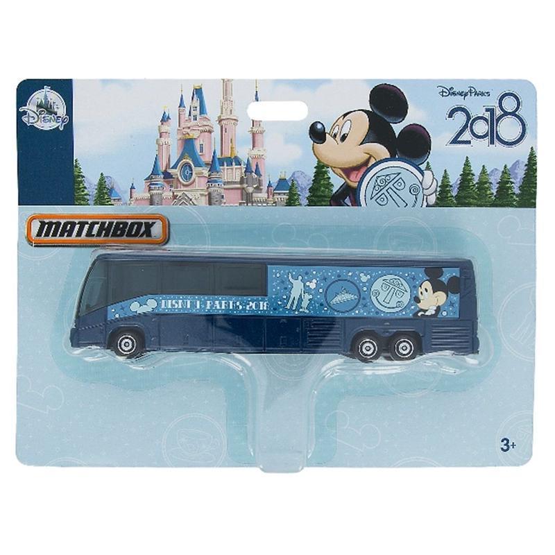 Disney Parks限定 2018 ミッキーマウス  バス MATCHBOX社製