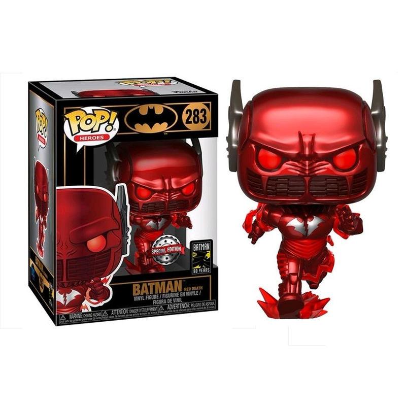 バットマン80周年記念 ファンコ  ポップ  バットマン  レッド・デス  Funko POP!  Batman Red Death[2017]