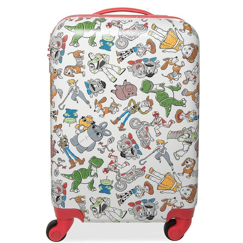 トイストーリー4   機内持込サイズ  スーツケース Toy Story 4 Rolling Luggage - Small