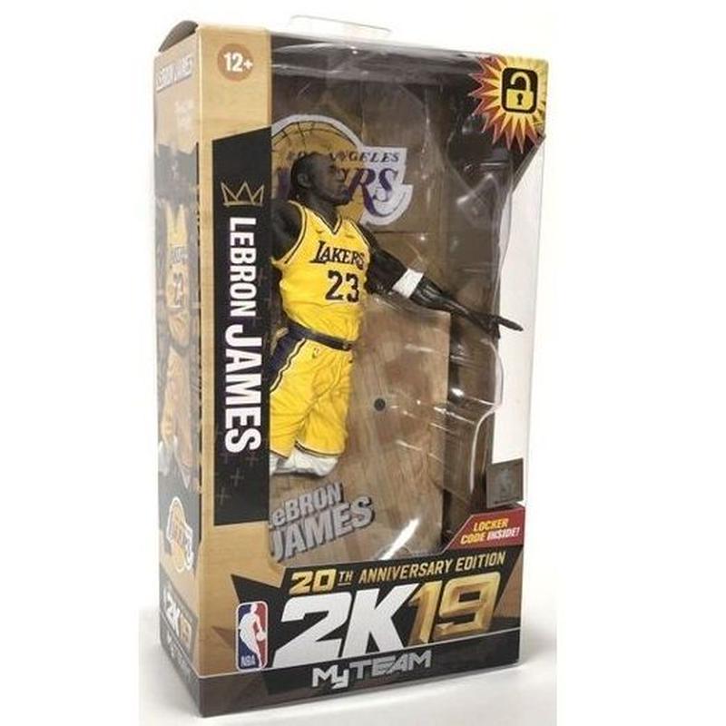 マクファーレントイズ  レブロン・ジェームズ LA レイカーズ  LEBRON JAMES (Los Angeles Lakers) McFarlane NBA 2K19