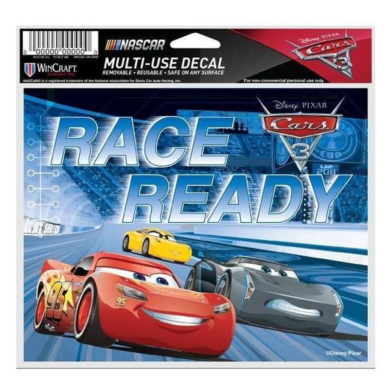 カーズ クロスロード     CARS3 x  NASCAR ビニール製ステッカー 【RACE READY】