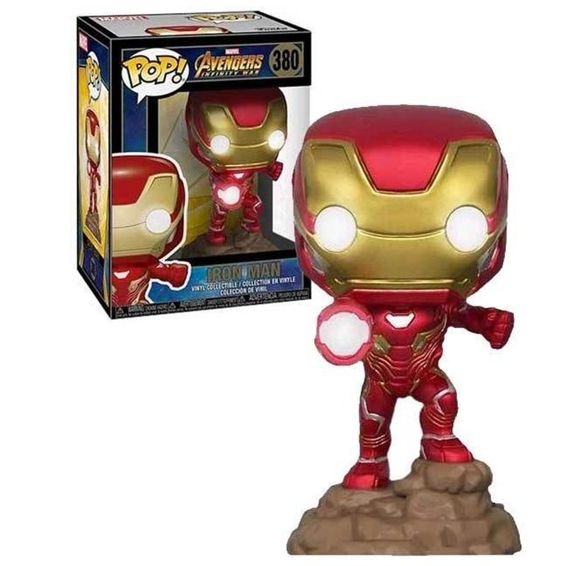 ファンコ ポップ  「アベンジャーズ/インフィニティ・ウォー」アイアンマン ライトアップ FUNKO POP!  Iron Man (Light-Up)