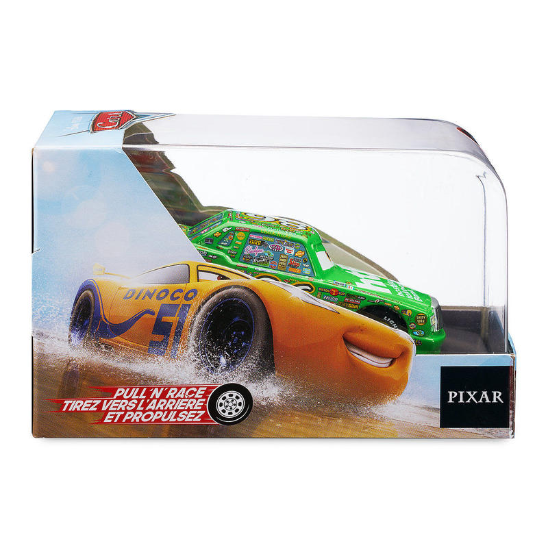 ディズニー・ピクサー カーズ   CARS 1/43  Pull 'N' Race Die Cast Car Chick Hicks