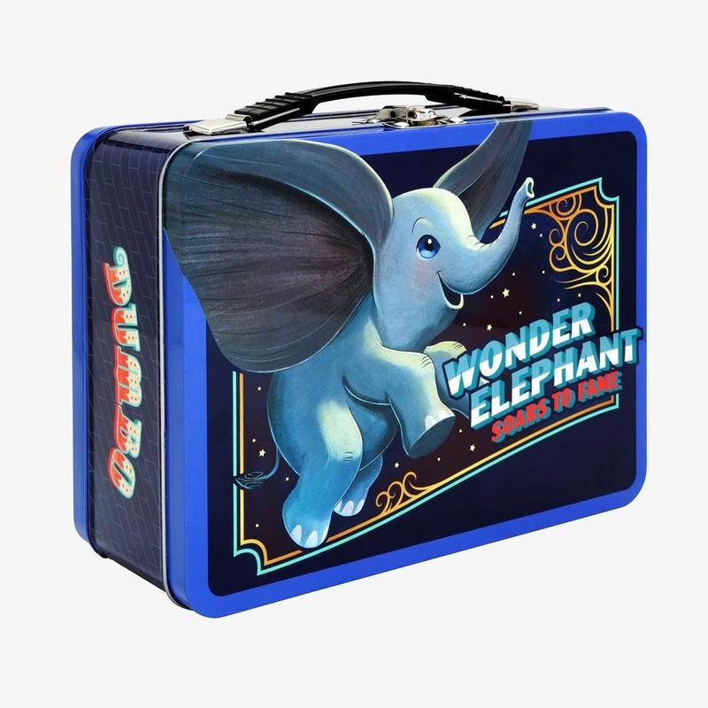 映画『ダンボ』 メタル・ランチボックス Disney Dumbo Metal Lunch Box