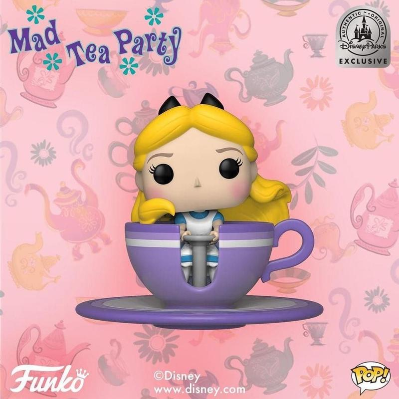 Disney Parks限定  ファンコ ポップ 『アリスのティーパーティー』 Funko Pop! Alice at the Mad Tea Party