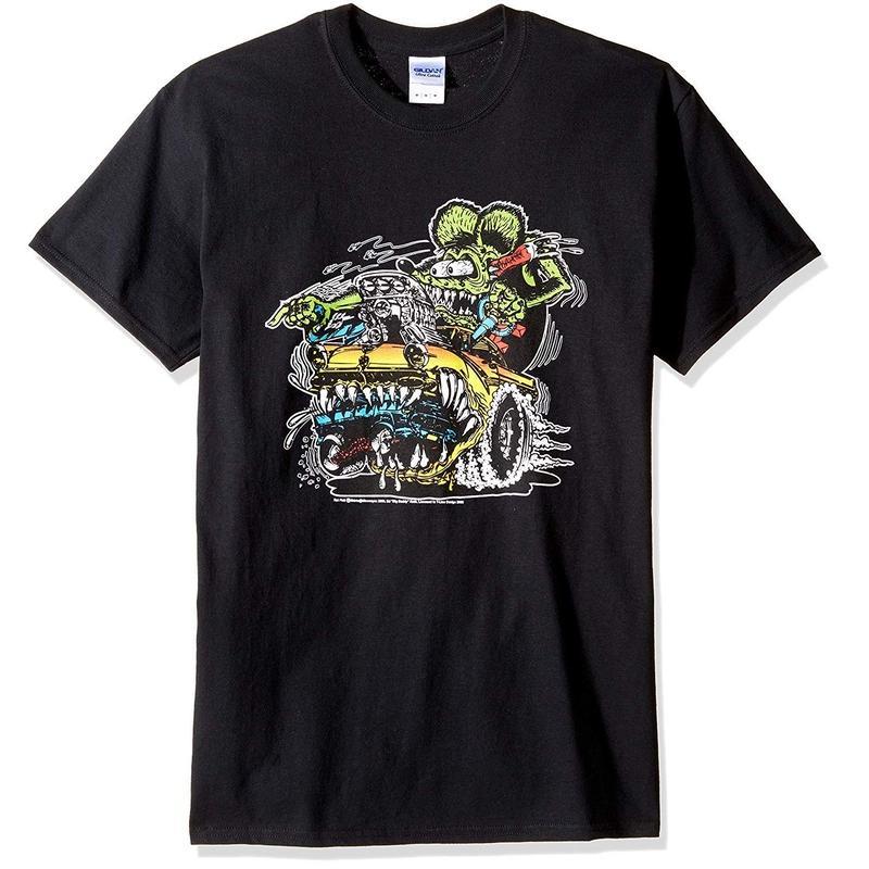 ラット・フィンク Tシャツ Rat Fink Car Eater  T-Shirt