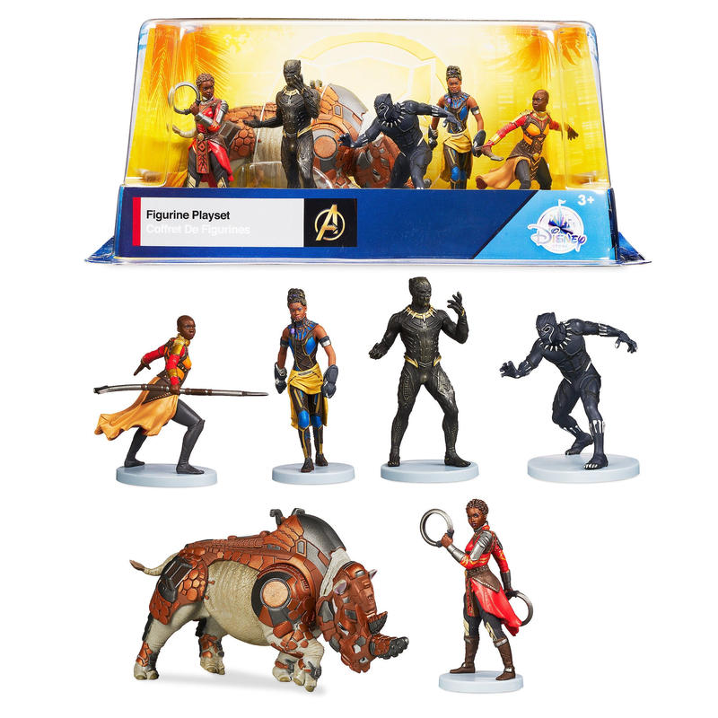 マーベル  ブラックパンサー フィギュアセット  Black Panther Figure Set