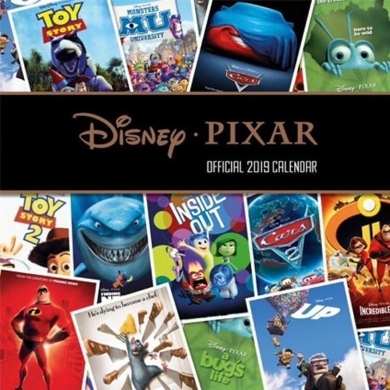 2019 ディズニー・ピクサー カレンダーDisney/Pixar Official 2019 Calendar
