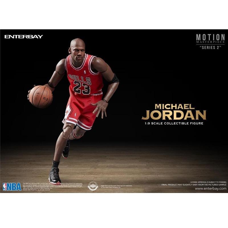 エンターベイ 1/9 モーションマスターピース コレクティブル フィギュア NBA マイケル・ジョーダン EnterBay NBA Motion Masterpiece Michael Jordan