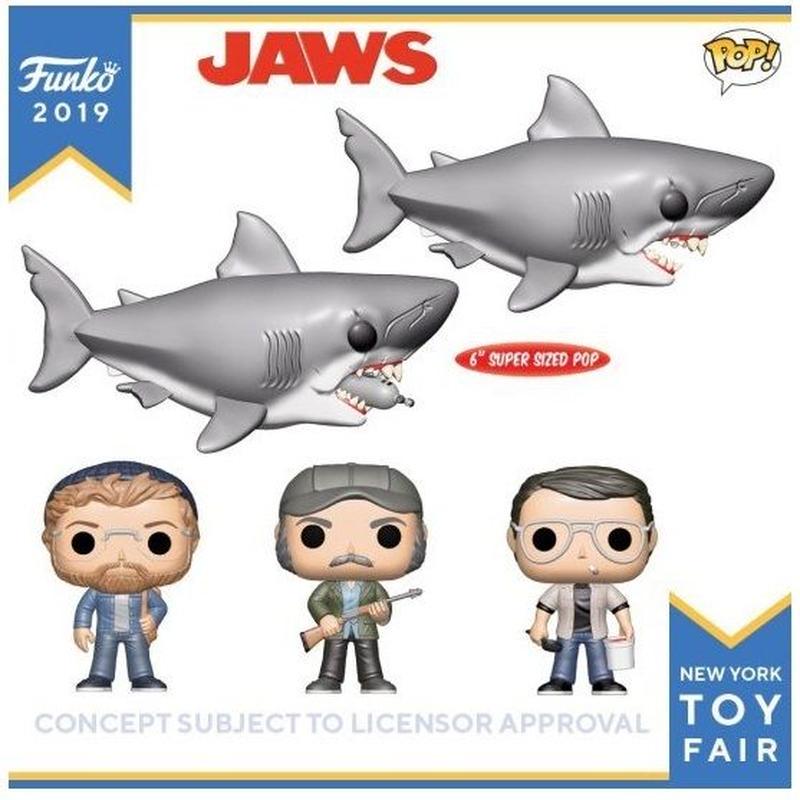 ファンコ  ポップ  映画『ジョーズ』5種セット Funko POP! JAWS  Set of 5