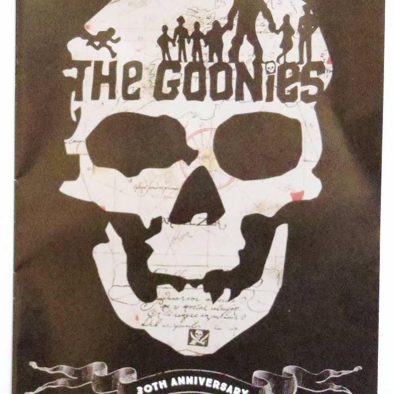 グーニーズ  The Goonies 30th Anniversary イベント プログラム
