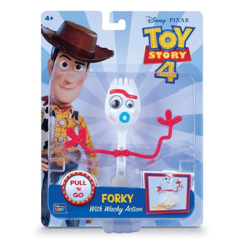 トイストーリー4   プルバック フォーキー Toy Story 4 Pull'n Go Forky