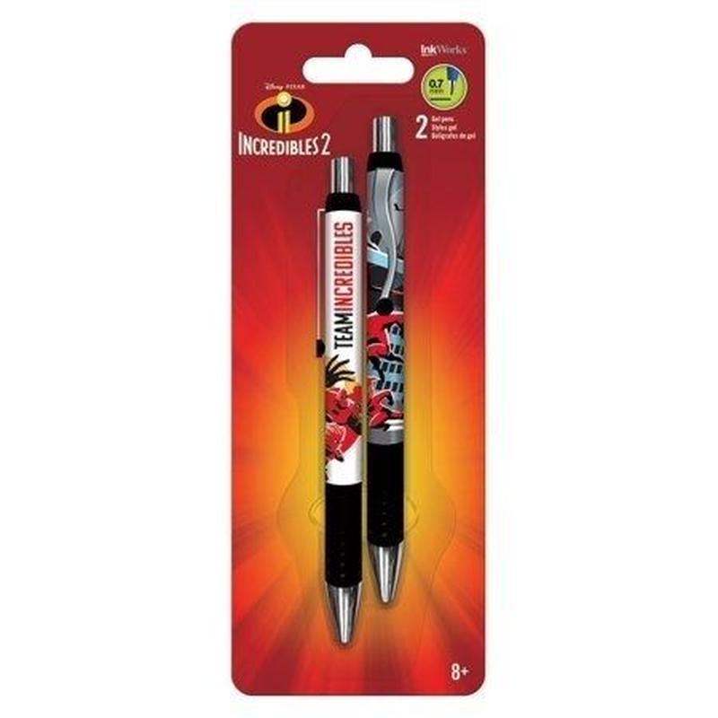 インクレディブル・ファミリー ジェルボールペン  2本セット