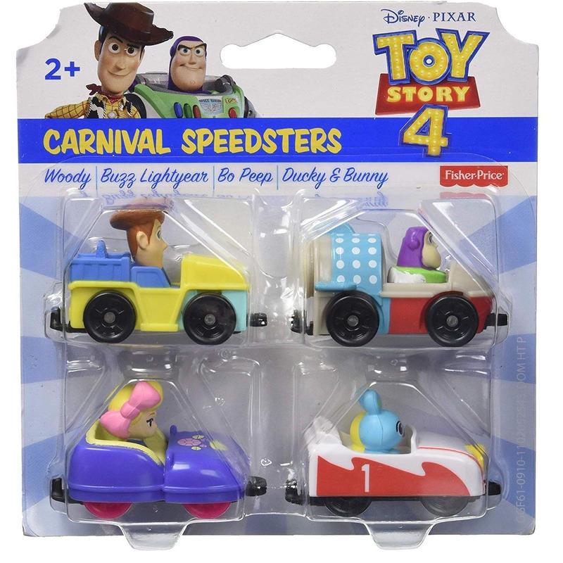 トイストーリー4  Fisher-Price カーニバル スピードスターズ Carnival Speedsters