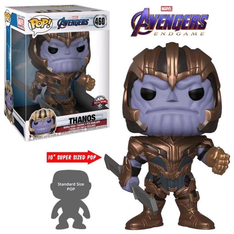 """ファンコ ポップ FUNKO POP! アベンジャーズ・エンドゲーム  サノス(10インチ)  Avengers Endgame  THANOS 10"""""""