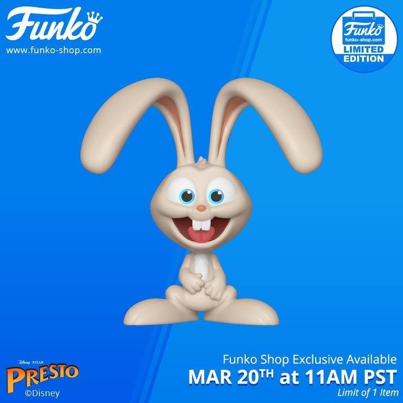 ファンコ ポップ FUNKO POP! ピクサー短編『マジシャン・プレスト』 ウサギのアレック