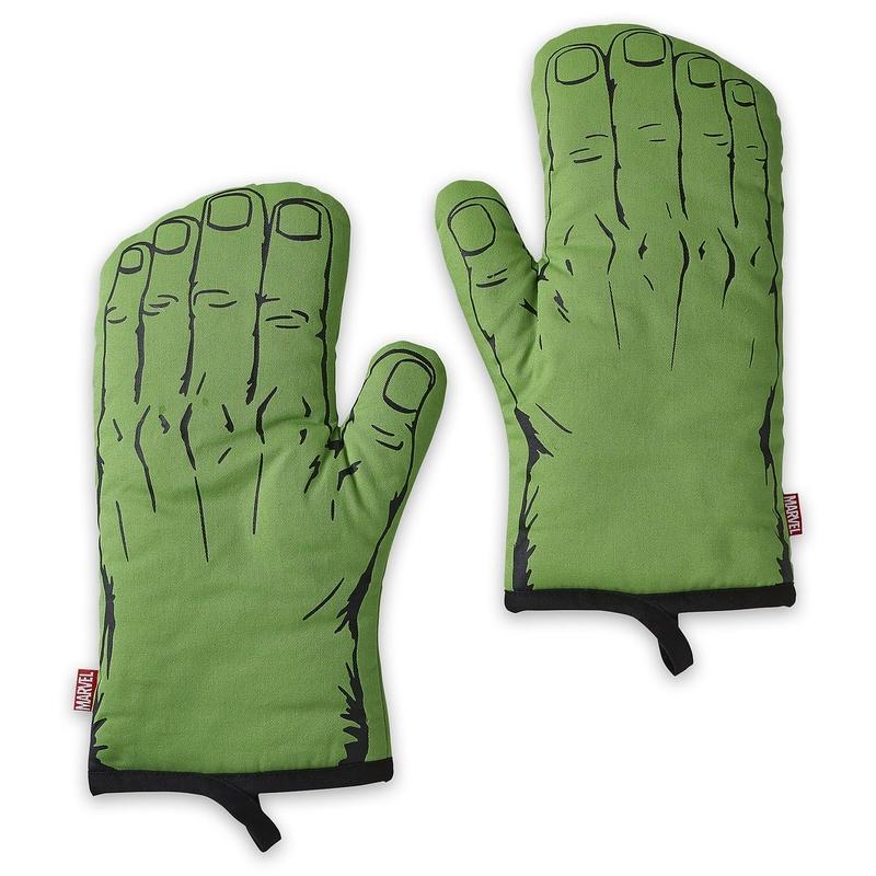 マーベル ハルク の ミトン(鍋つかみ)Hulk Oven Mitt Set