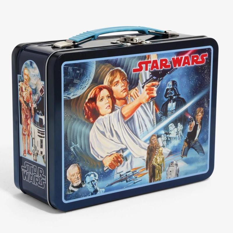 スターウォーズ 新たなる希望 ティン・ランチボックス STARWARS A NEW HOPE Tin Lunch Box