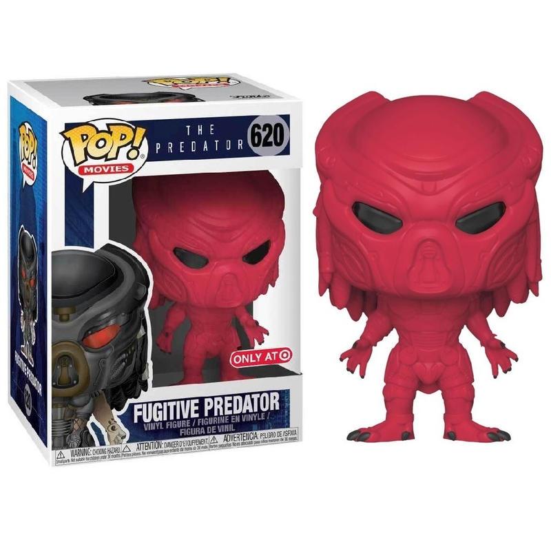 ファンコ ポップ FUNKO POP!  TARGET限定 ザ・プレデター フュージティヴ・プレデター(レッド)  The Predator  Fugitive Predator (Red )