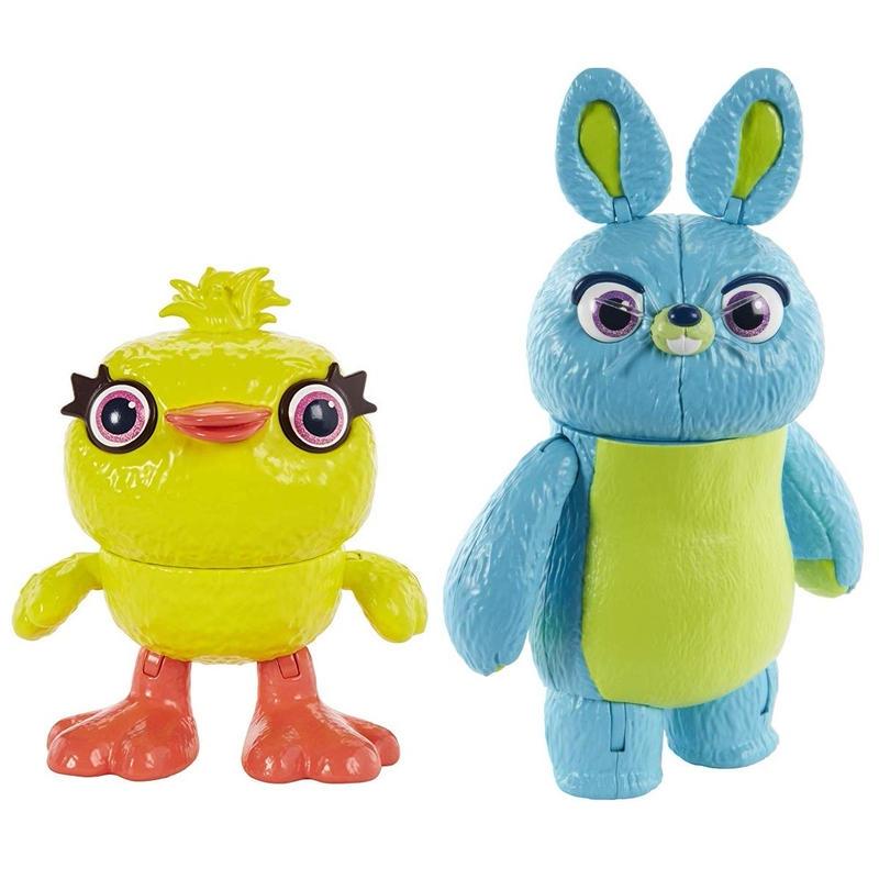 トイストーリー4  アクションフィギュア ダッキー & バニー 2体セット Toy Story4 Ducky & Bunny