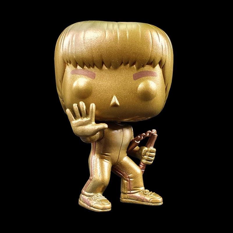 ファンコ  ポップ 「死亡遊戯」ブルース・リー(ゴールド)  Funko Pop!Bruce Lee Enter the Dragon (GOLD)