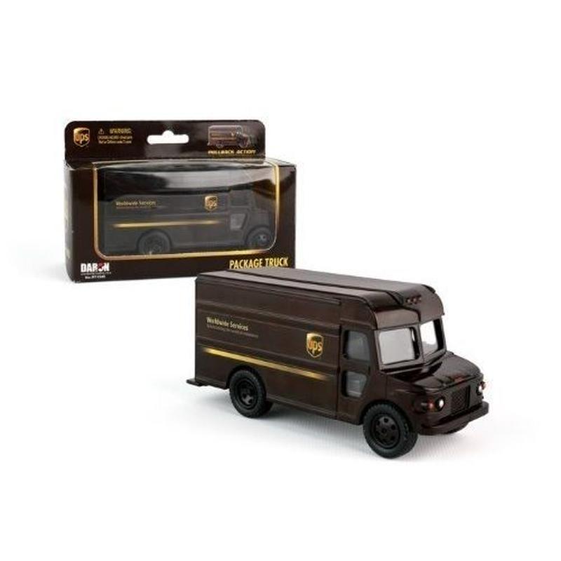 UPS トラック プルバックカー