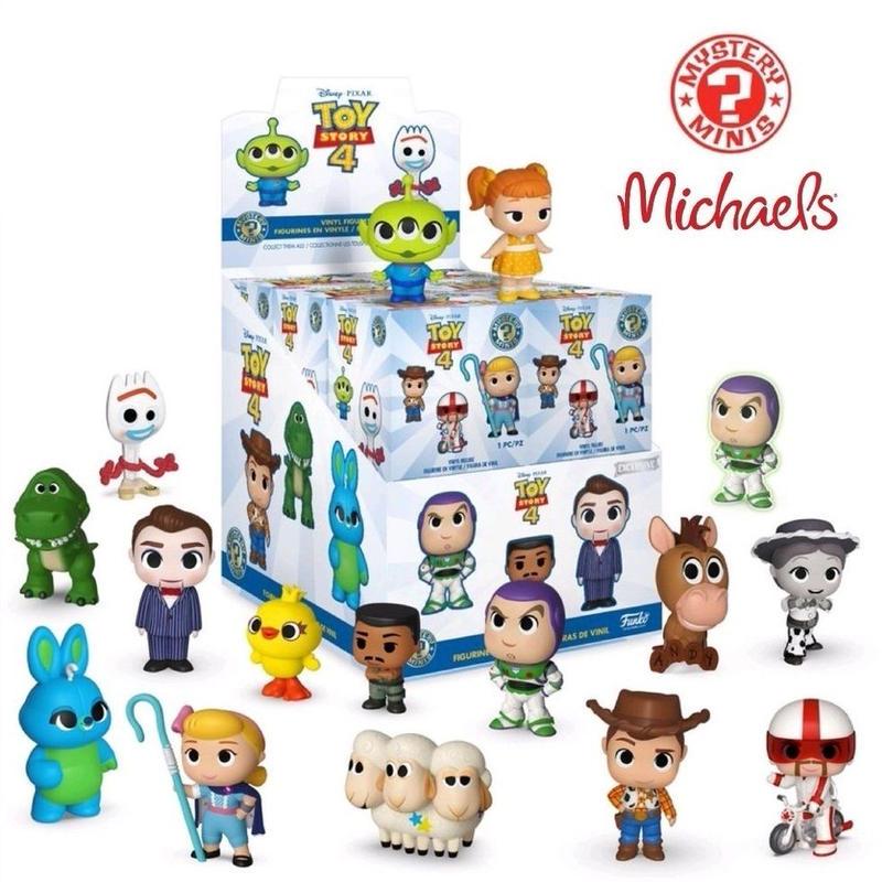 ファンコ  ミステリーミニ 『トイストーリー4』 Michaels限定ボックス  Toy Story 4 Mystery Mini  Michaels Exclusive