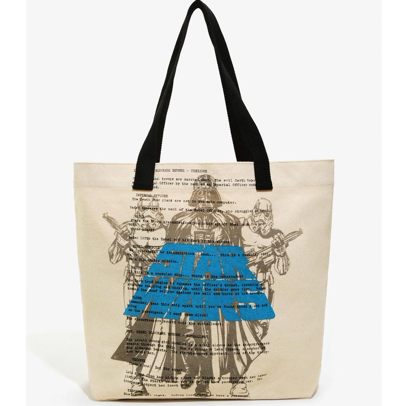 スターウォーズ ラウンジフライ キャンバス製 トートバッグ 【Darth Vader & Stormtroopers 】Loungefly Star Wars  Canvas Tote Bag
