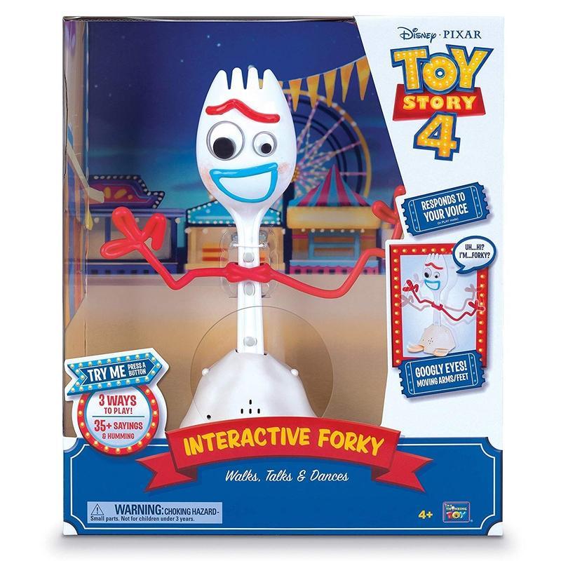 トイストーリー4 インタラクティブ・フォーキー Toy Story 4 Intaractive Forky  Walks,Talks & Dances