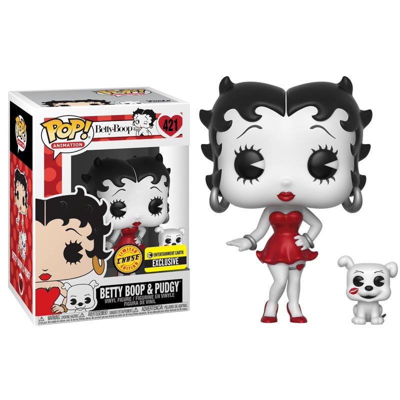 ファンコ ポップ  ・ベティ・ブープ  ブラック&ホワイト(CHASE) Funko POP!  Black-and-White Betty Boop(Chase)