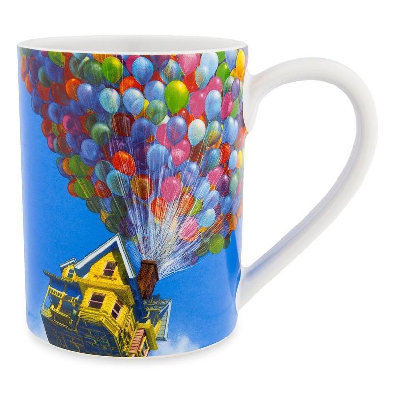 『カールじいさんの空飛ぶ家』 セラミック製 ジャンボ・マグカップ
