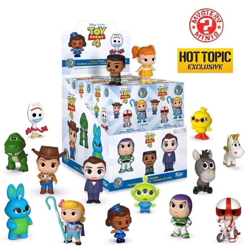 ファンコ  ミステリーミニ 『トイストーリー4』HOTTOPIC限定ボックス  Toy Story 4 Mystery Mini Hot Topic Exclusive