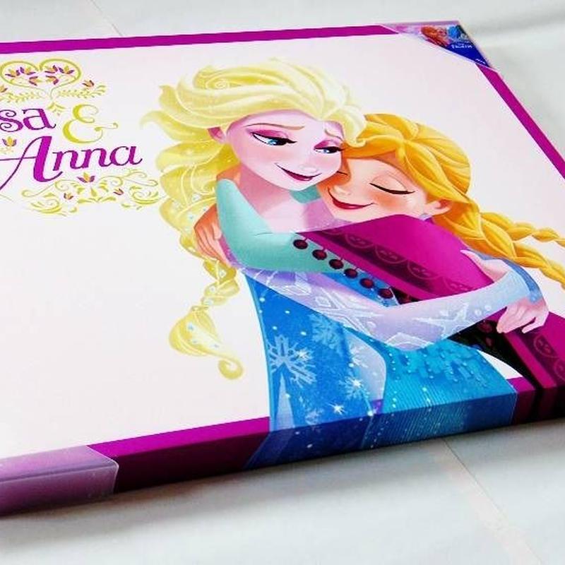 アナと雪の女王 キャンバスアート  L