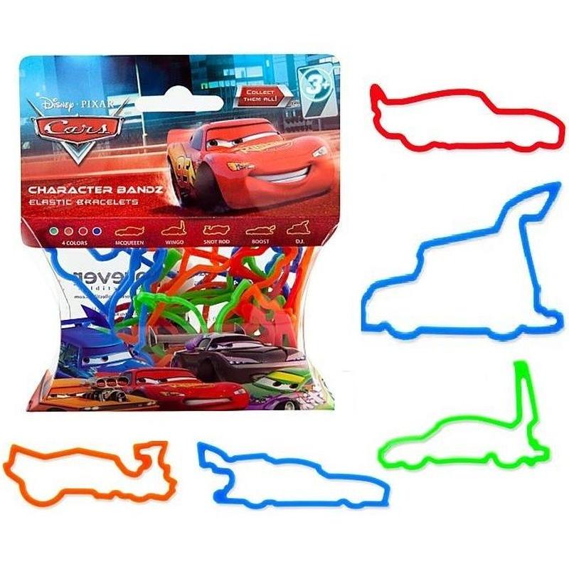 ディズニー・ピクサー カーズ  2006年 輪ゴムのブレスレット? (20個入)  Cars Character Bandz