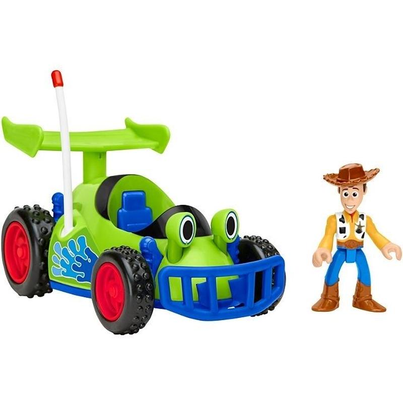 トイストーリー  Fisher-Price Imaginext ウッディ & RC    Woody & R.C.