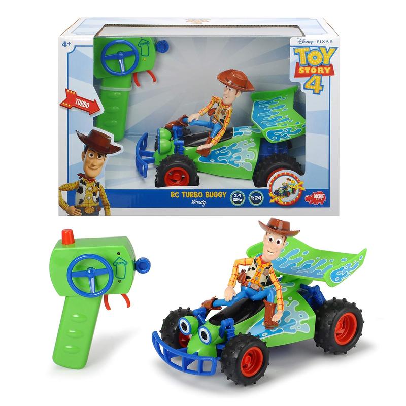 トイストーリー4  ラジオコントロール RC ターボ・バギー with ウッディ  Toy Story 4   RC TURBO BUGGY Woody