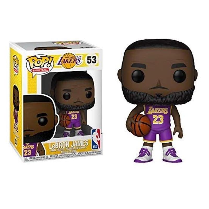 ファンコ ポップ FUNKO POP!  レブロン・ジェームズ LA レイカーズ パープルジャージ FUNKO POP! Lakers - Lebron James (Purple)