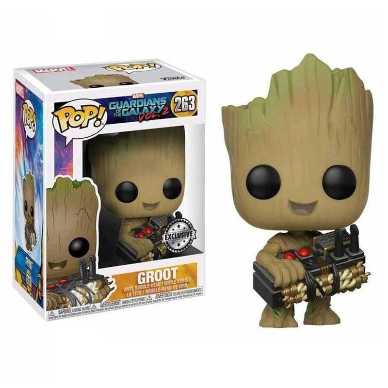 ファンコ ポップ FUNKO POP! ガーディアンズオブギャラクシー・リミックス   グルート with ボム Guardians of The Galaxy Vol. 2- Groot  #263