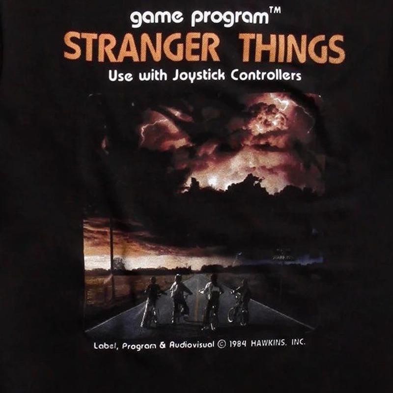 『ストレンジャー・シングス 未知の世界』Stranger Things VIDEO GAME  Tシャツ