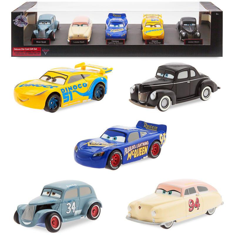 ディズニー・ピクサー カーズ  クロスロード 1/43 ダイキャストカー トーマスビル・スピードウェイセット CARS3 1/43   Deluxe Die Cast Set - 5-Piece