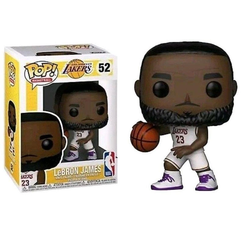 ファンコ ポップ FUNKO POP!  レブロン・ジェームズ LA レイカーズ ホワイトジャージ FUNKO POP! Lakers - Lebron James (White)
