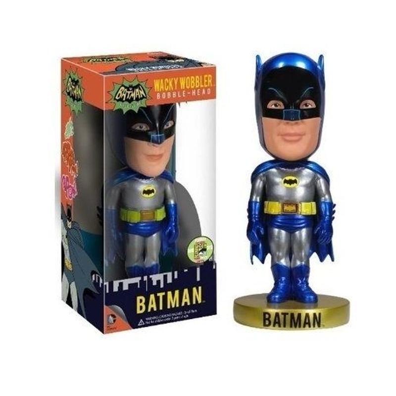 2013年コミコン限定 メタリック バットマン ファンコ ワッキーワブラー  SDCC2013 Funko WACKY WOBBLER Batman 1966 Metallic