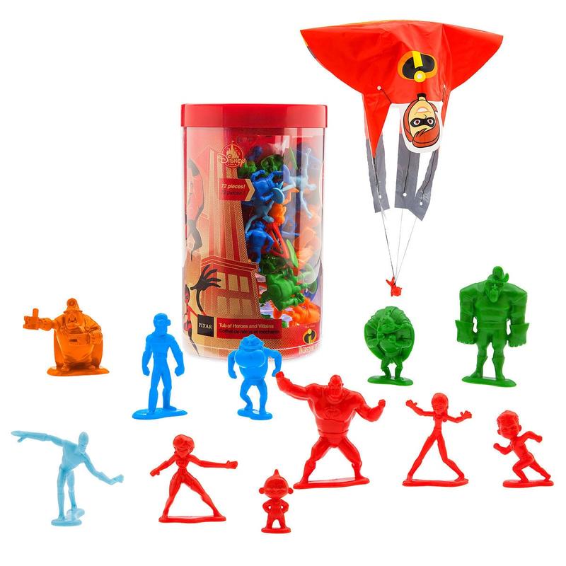 インクレディブル・ファミリー  タブ オブ ヒーローズ&ヴィランズ Incredibles 2 Tub of Heroes and Villains