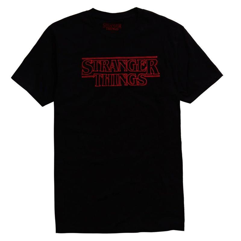 『ストレンジャー・シングス 未知の世界』Stranger Things  LOGO Tシャツ