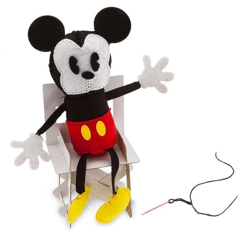 ミッキーマウス    ぬいぐるみキット  Mickey Plush Kit