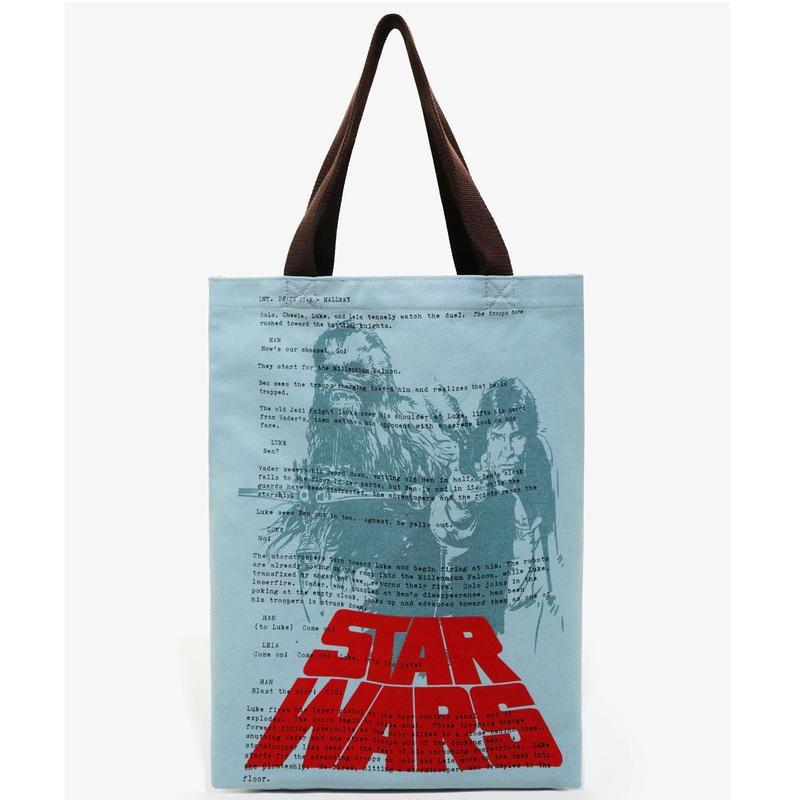 スターウォーズ ラウンジフライ キャンバス製 トートバッグ 【Han & Chewy】Loungefly Star Wars  Canvas Tote Bag