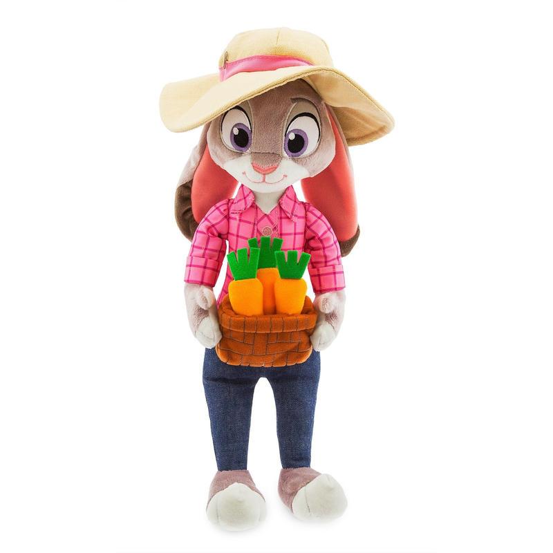 ズートピア Disney Store ぬいぐるみ  Judy Hopps ジュディ・ホップス
