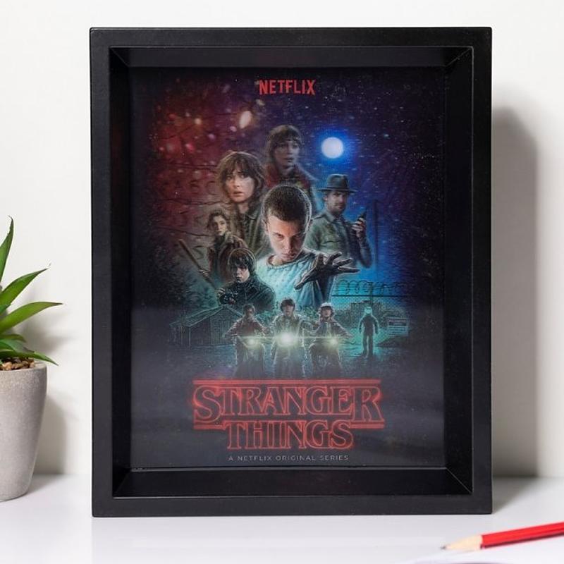 Netflix『ストレンジャーシングス』レンチキュラー ウォールアート